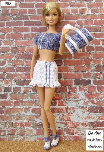 Photo of P68 #crochetedbarbiedollclothes P68 | Anel Lombard | Flickr