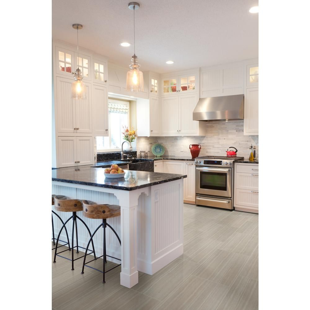 modena cashew 12 in x 24 in glazed ceramic floor and wall tile 16 sq ft case in 2020 on kitchen remodel floor id=66014