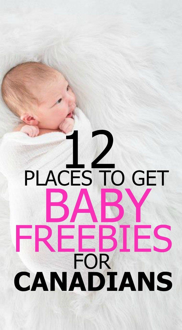 The Ultimate Guide to Baby Freebies for Canadian MomstoBe  Baby