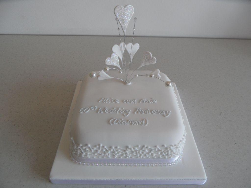 Diamond Anniversary Cakes Cake Ideas Birthday