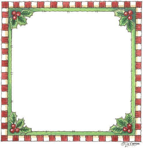 free printable frames for christmas