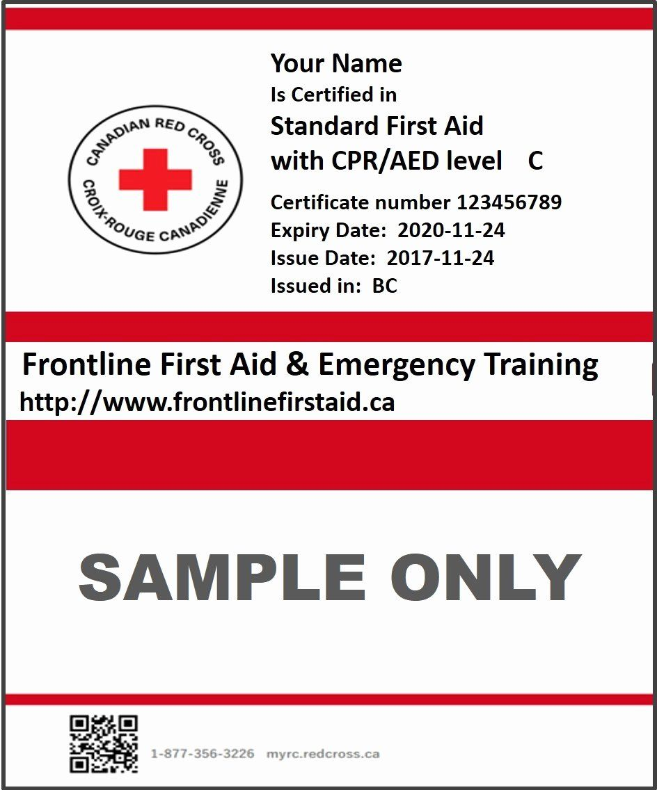 Nsc Cpr Course Certificate Template Lovely Lost My Cpr Certification Card Red Cross Certificate Templates Templates Certificate