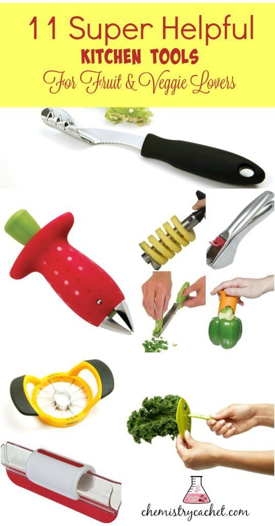 11 Super Helpful Kitchen Tools for Fruit & Veggie Lovers