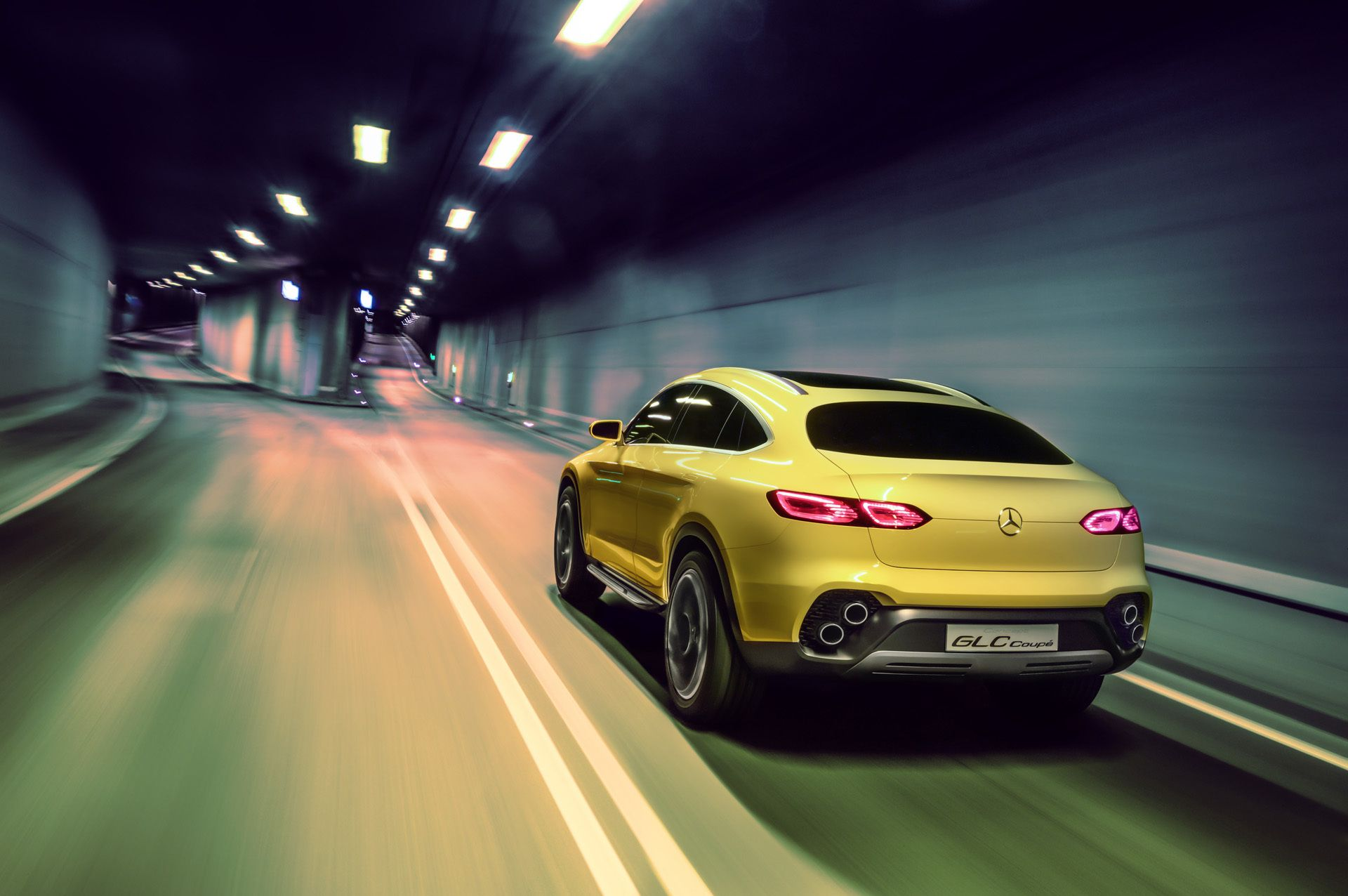 Mercedes Benz Concept GLC Coupe es to China ready to fight BMW s