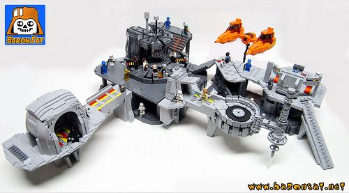 A Refreshing Return To Cloud City Cool Lego Creations Cloud City Lego