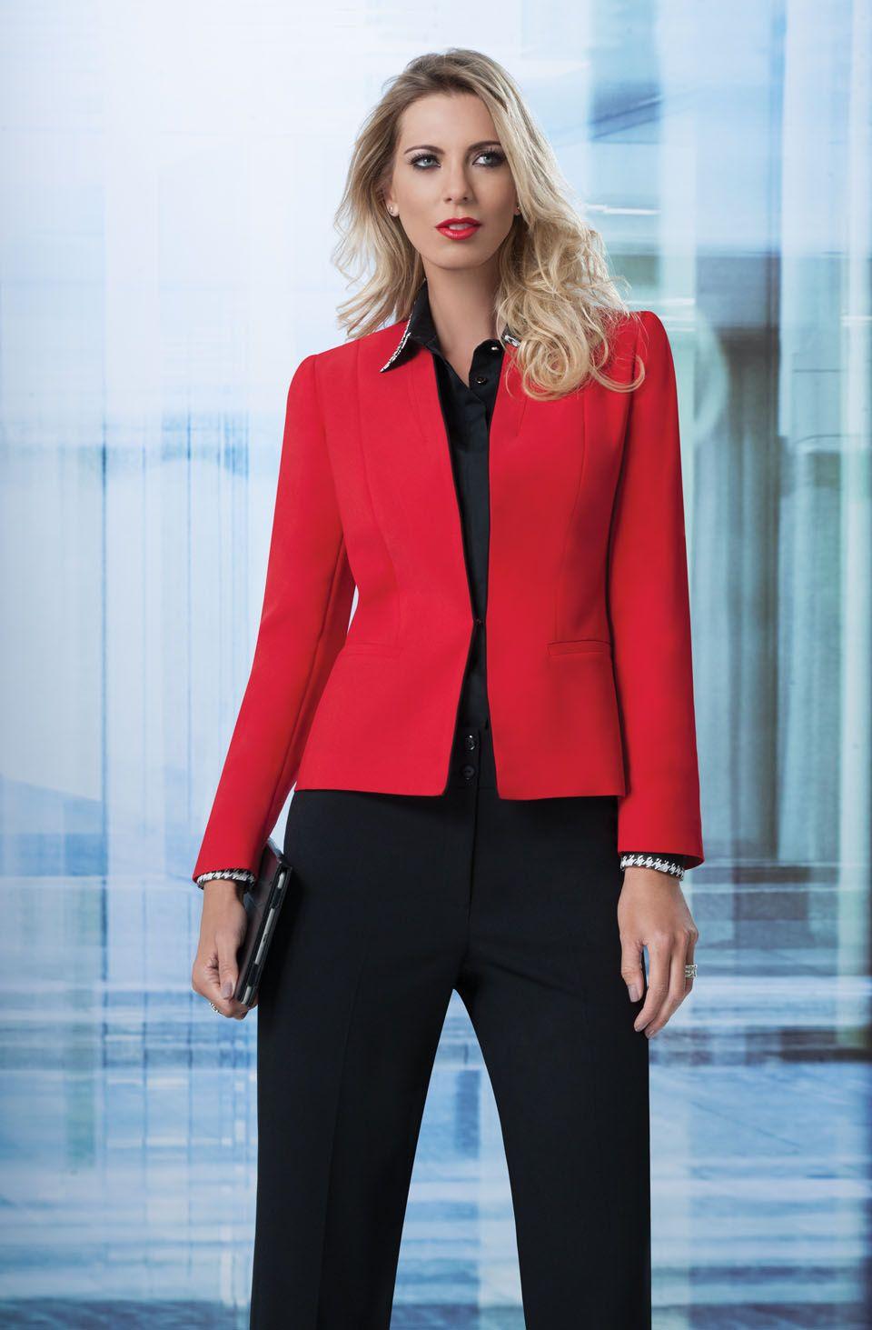 Grupo Vanity Uniformes Vanity Fashion Outfits Women S Blazer