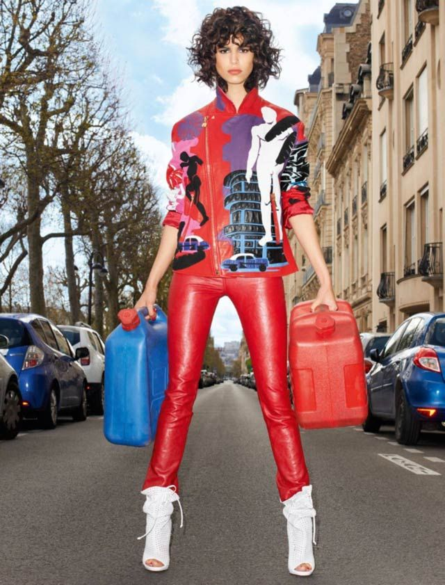 Vogue Paris - Terry Richardson - Mica Arganaraz