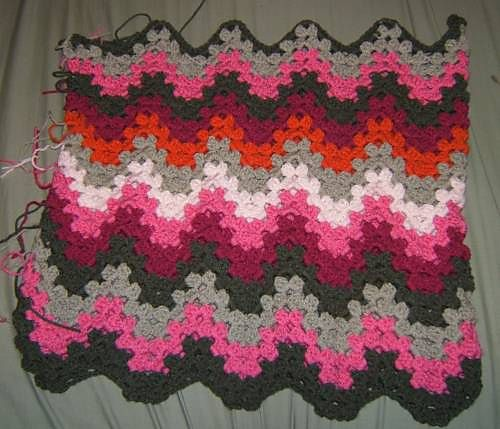 Ravelry Project Gallery For Granny Ripple Afghan Pattern By Project