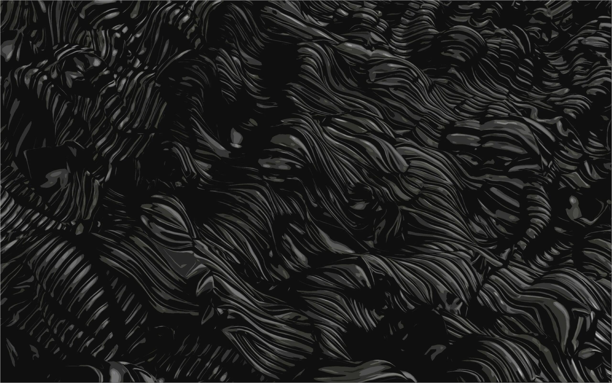 Abstract Dark 4k Wallpaper In 2020
