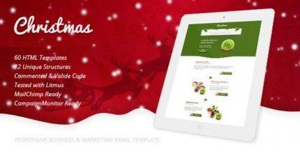 Christmas Merry Christmas Email Template Design Vast Pinterest