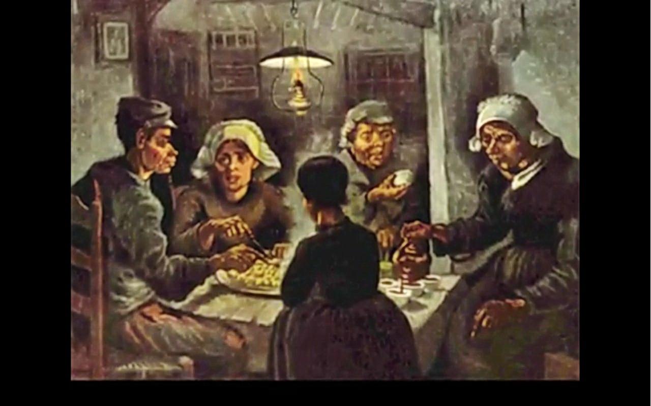 Vincent Van Gogh (1853-1890) Les mangeurs de pommes de terre 1885 ...