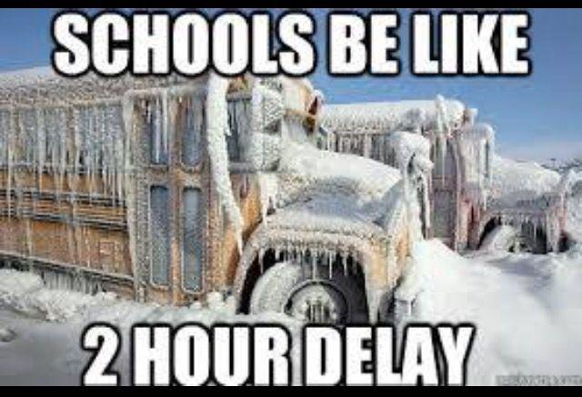 Snow Day Meme Winter Scenes School Bus Winter