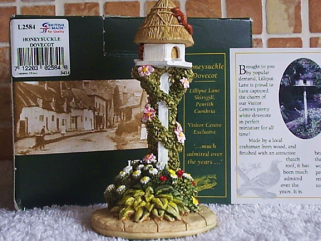 Lilliput Lane Honeysuckle Dovecot Visitor Centre Special Edition | eBay