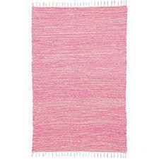 Complex Pink Area Rug