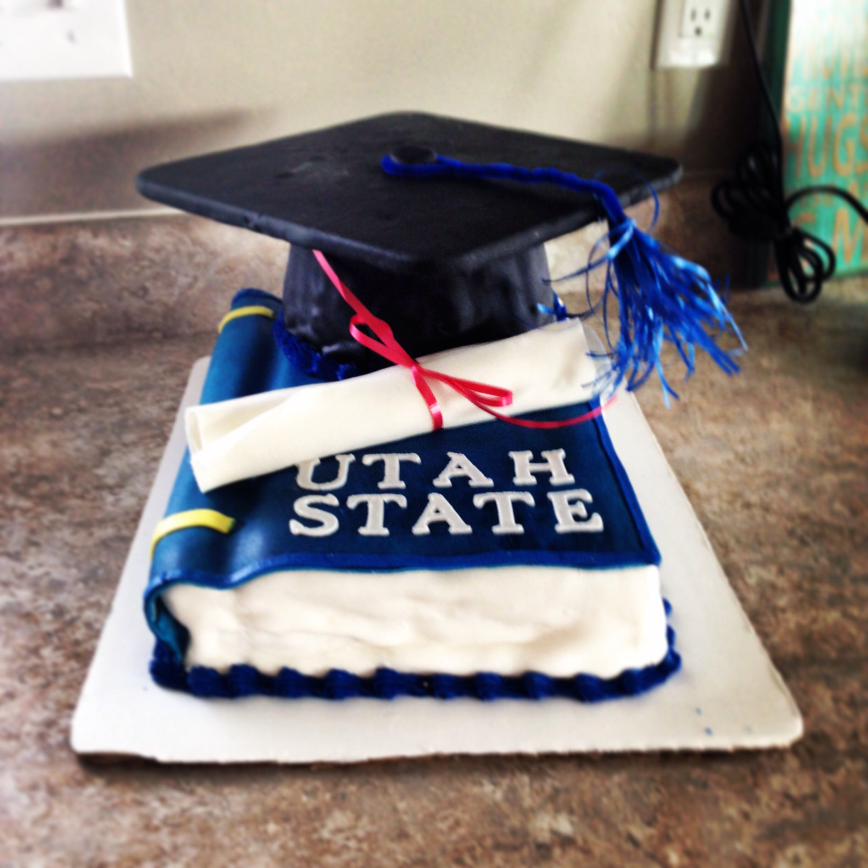 Pin by McKaela Hill on Utah state aggies | Cake university ...