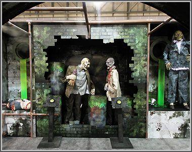 spirit halloween display | Zombie Wasteland | | Innomark ...