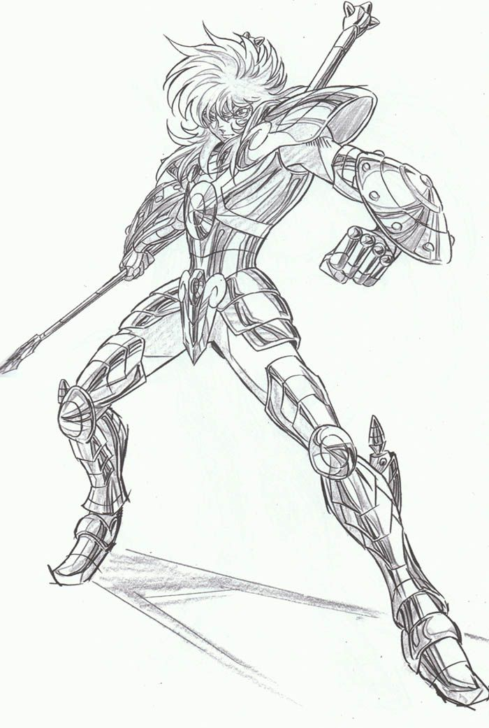 Desenhos Para Colorir Cavaleiros Do Zodiaco Libra Cavaleiros Do