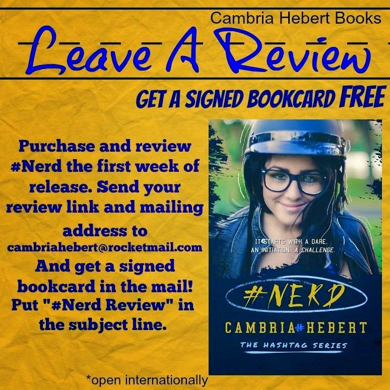 #Nerd by Cambria Hebert | Cambria Hebert books #Hastag series #Gear series | Pinterest | Nerd