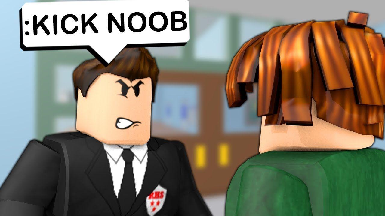 Admin In Roblox High School Youtube Roblox High School Admin