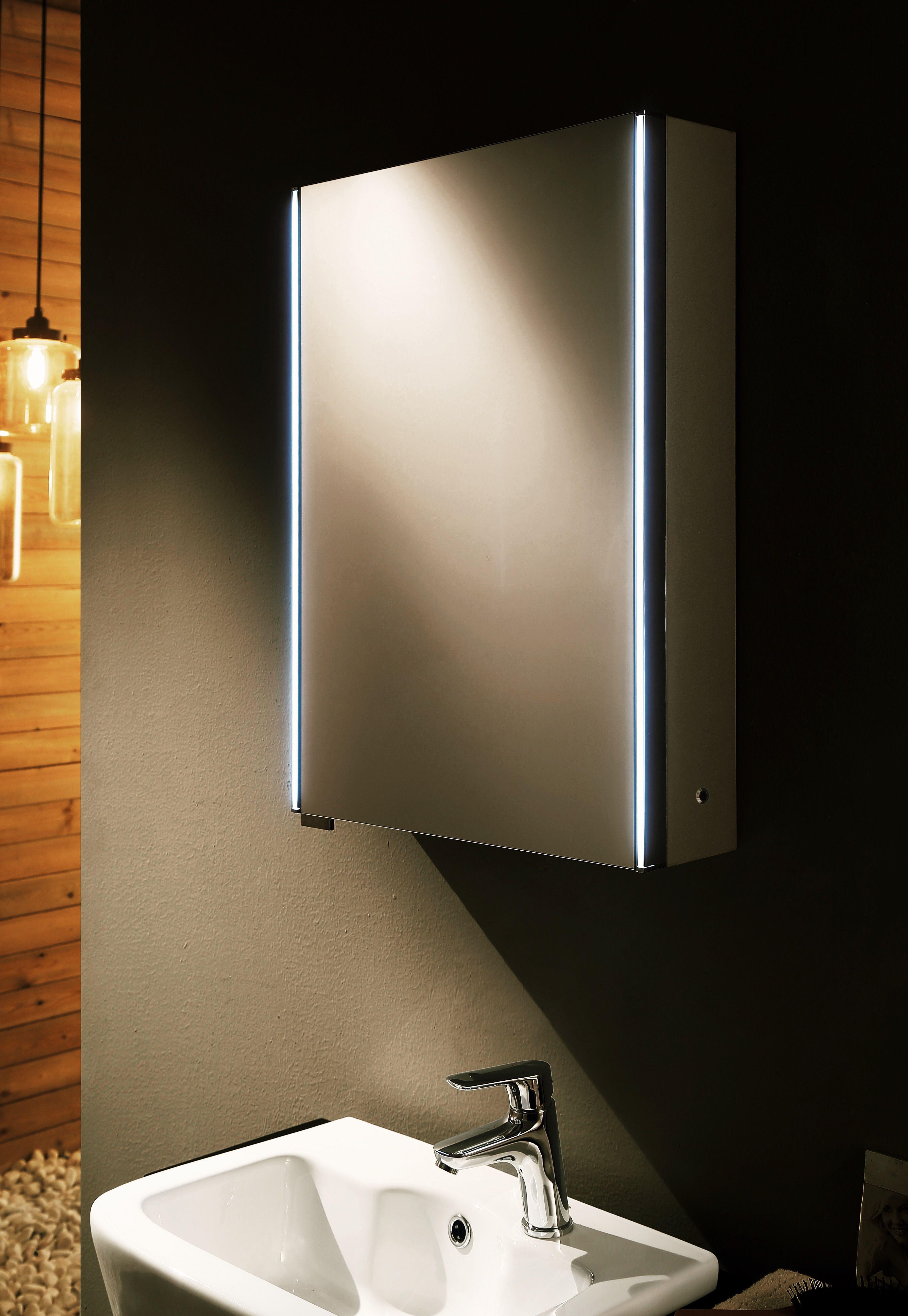 Led Illuminated Bathroom Mirror With