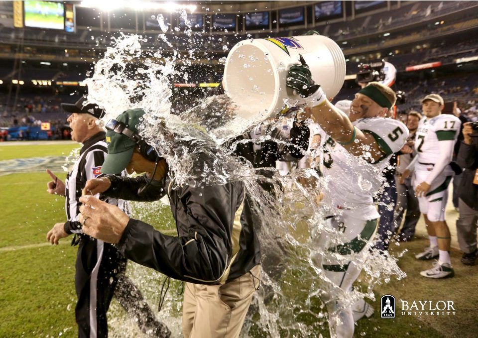 Art Briles First Baylor football coach ever to lead the