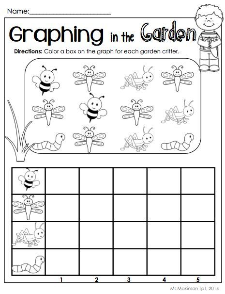 bug graph worksheet | Crafts and Worksheets for Preschool,Toddler ...