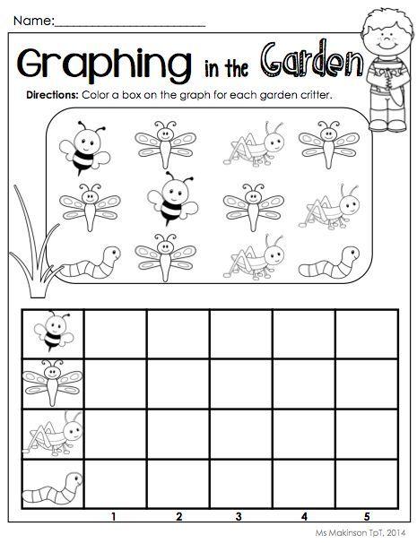 Worksheets Graphing Worksheets For Preschoolers bug graph worksheet crafts and worksheets for preschooltoddler kindergarten