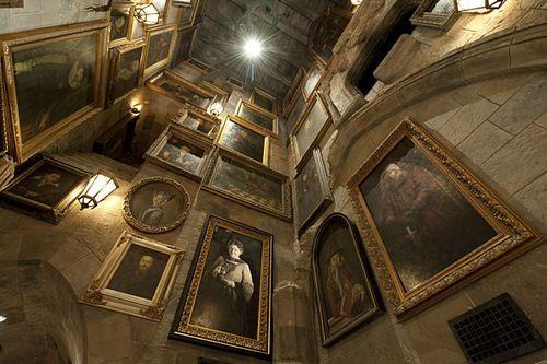 Inside Hogwarts Castle at Universal