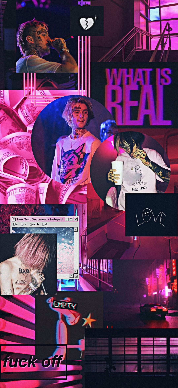 Lockscreen Lil Peep Pink Lil Peep Lyrics Lil Peep Instagram Lil Peep Hellboy
