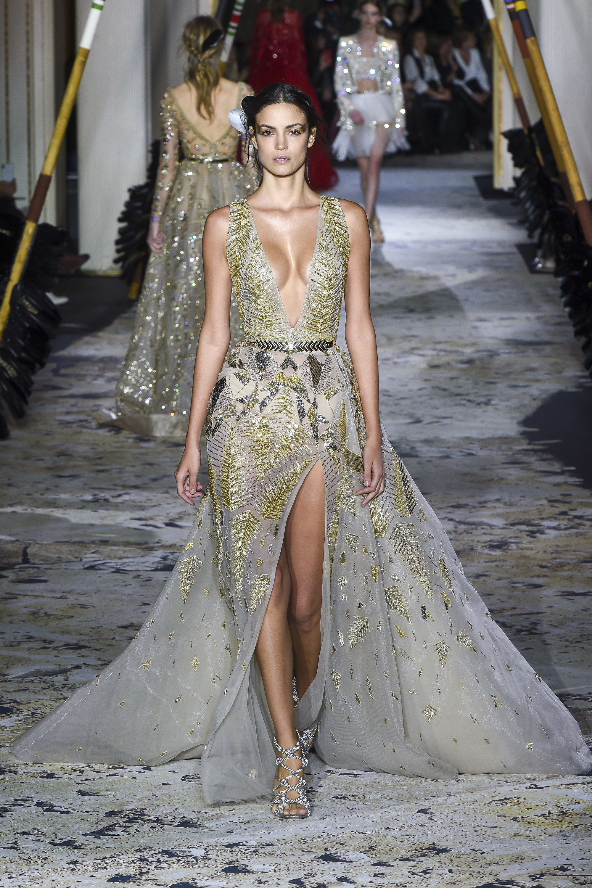 Zuhair Murad Spring 2018 Couture Fashion Show Collection ...
