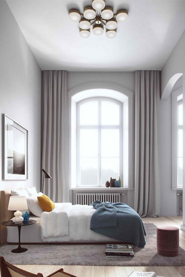Ein helles Grau als Wandfarbe im Schlafzimmer, wie wärs? #Kolorat - wandfarbe grau