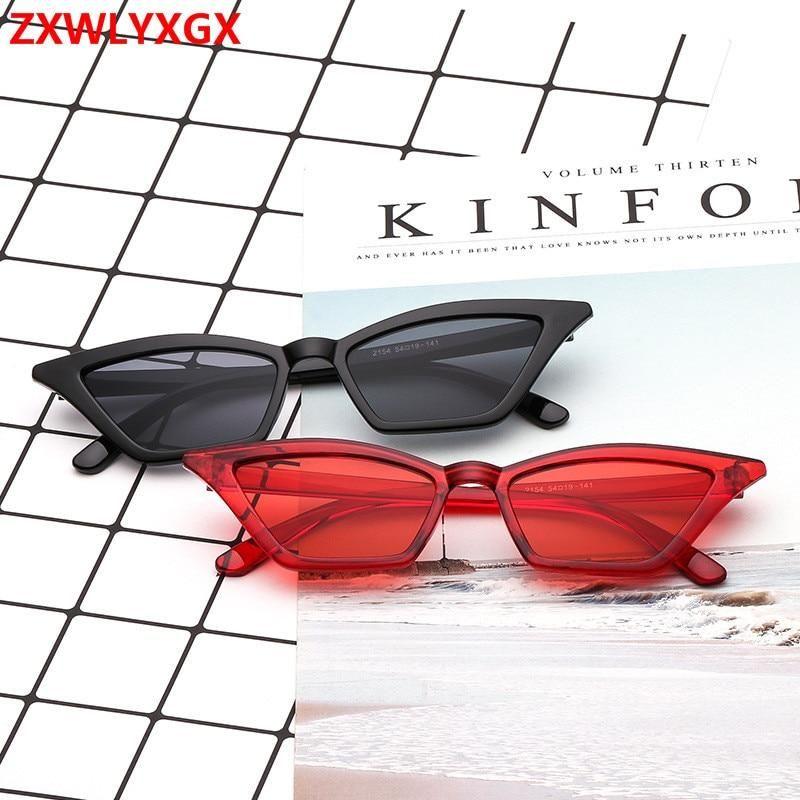 f10c11bbbd1d Sunglasses women brand design retro colorful transparent colorful fashion  cateye sun glasses men UV400