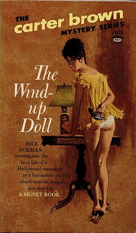 Robert McGinnis The Wind Up Doll By Carter Brown