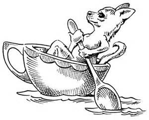 Chihuahua Pencil Coloring Pages