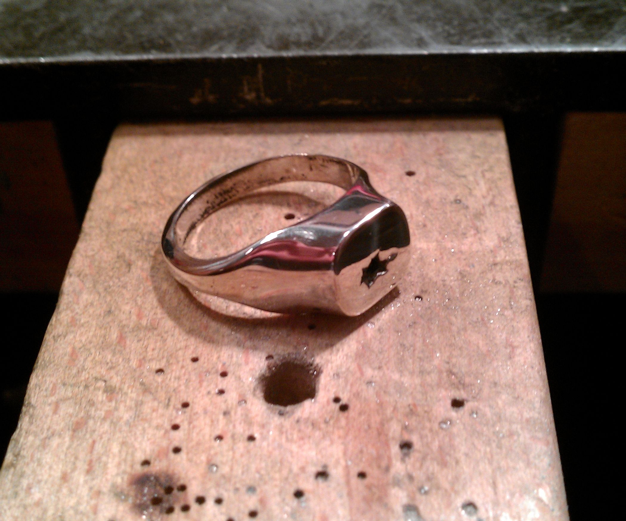 How to Make a Silver Signet Ring | rings | Signet ring ...