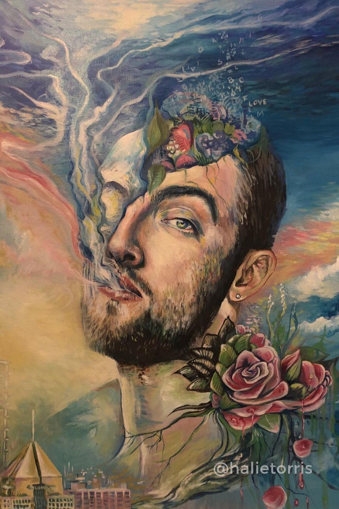 Mac Miller Canvas Wall Art