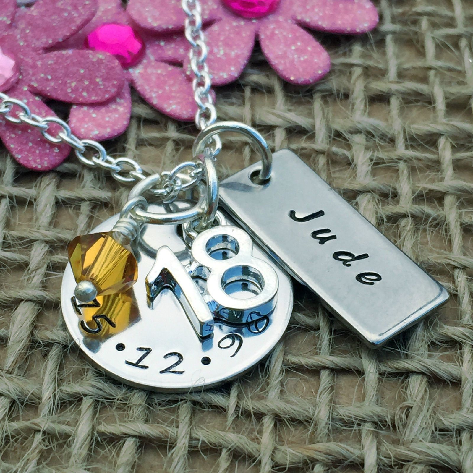 18Th Birthday Gift Ideas Personalised Jewellery For Her Ebay Home Garden