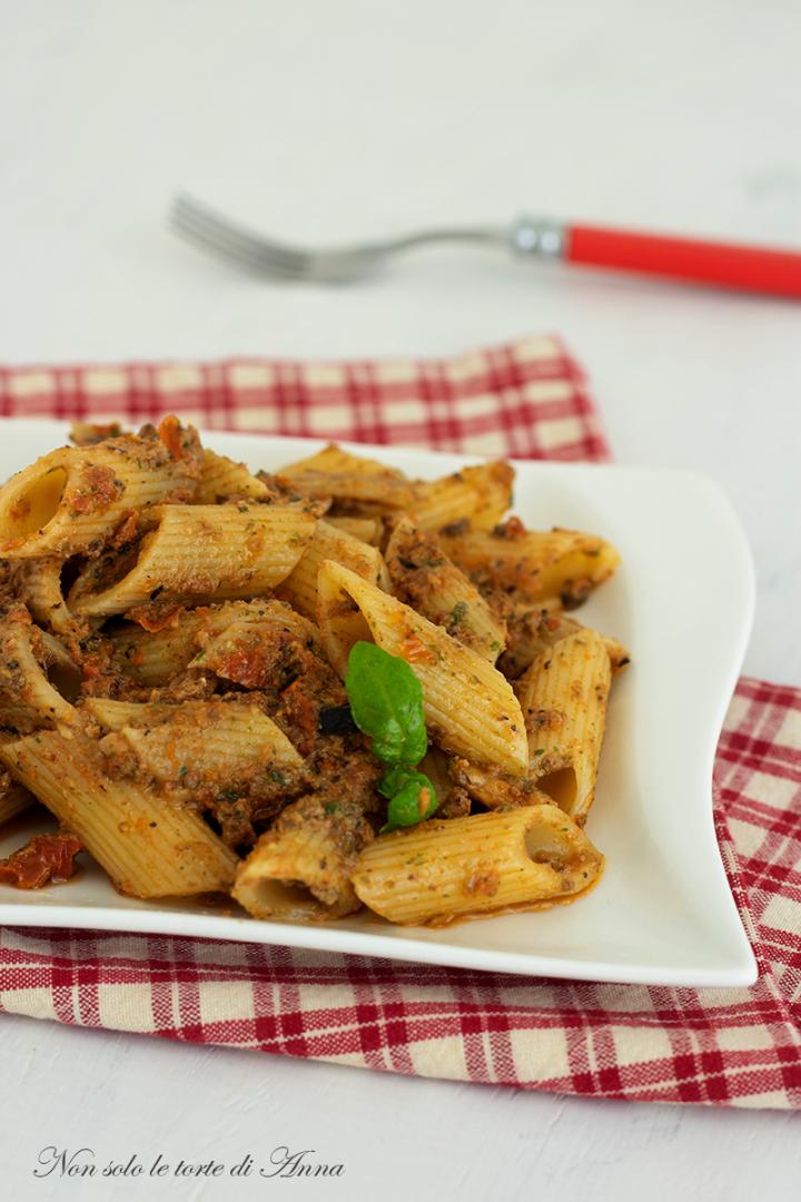 pasta alla siciliana #ricetta primo piatto facile con #olive #recipe ...