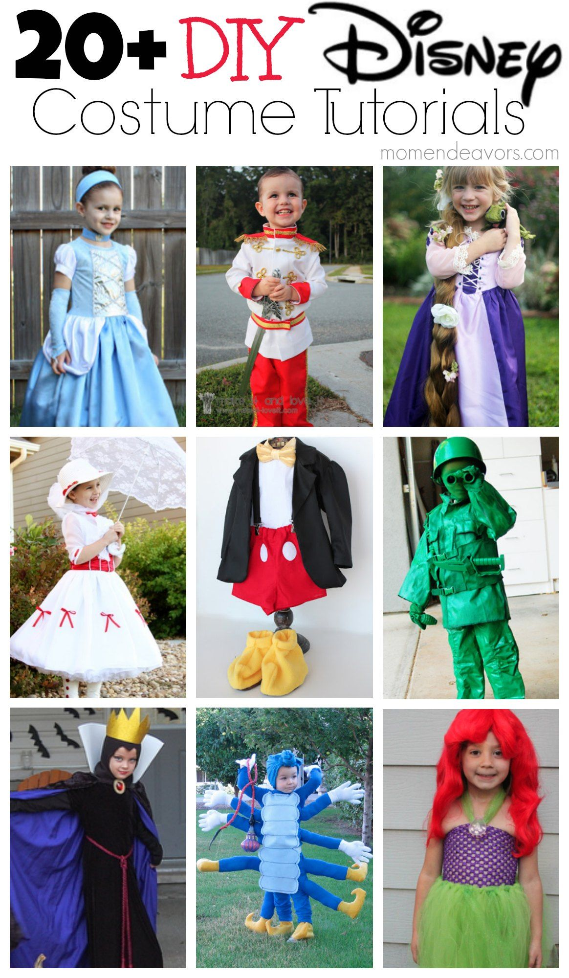 20+ DIY Disney Costume Tutorials via
