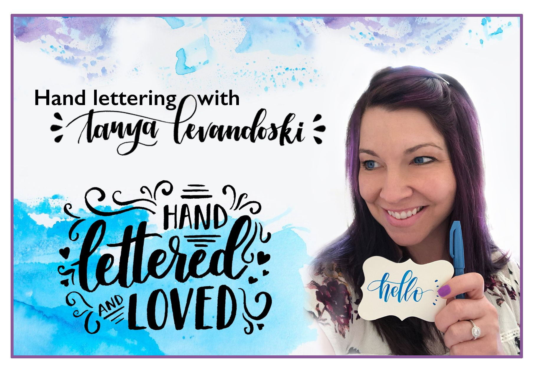 Want To Learn Brush Lettering Subscribe To Learn More