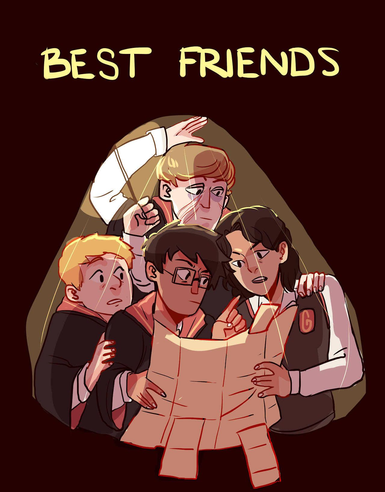 The Marauders By Silenceofthesheeps Harrypotter Fanart Harry Potter Memes Harry Potter Funny Harry Potter Pictures