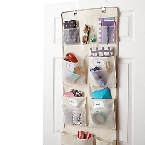 Awesome With The Real Simple 29 Pocket Over The Door Multipurpose Organizer, You