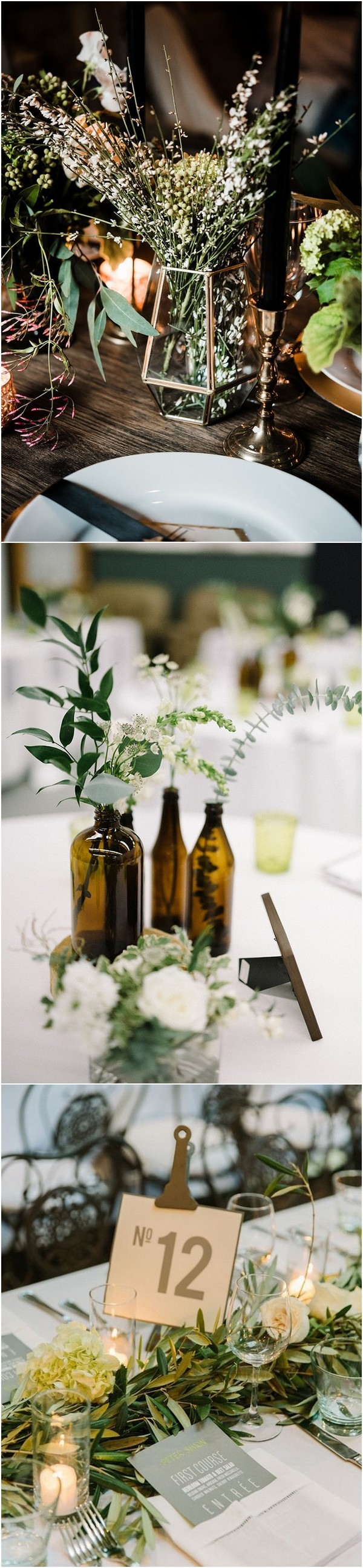 Wedding decor ideas 2018  Trending Industrial Wedding Centerpiece Ideas for   Page