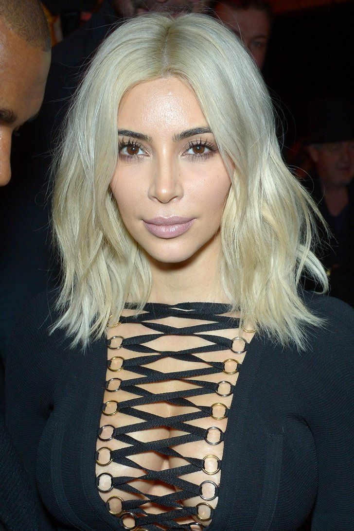 Pin For Later 25 Springtime Blonde Shades To Show Your Hairdresser Kim Kardashian