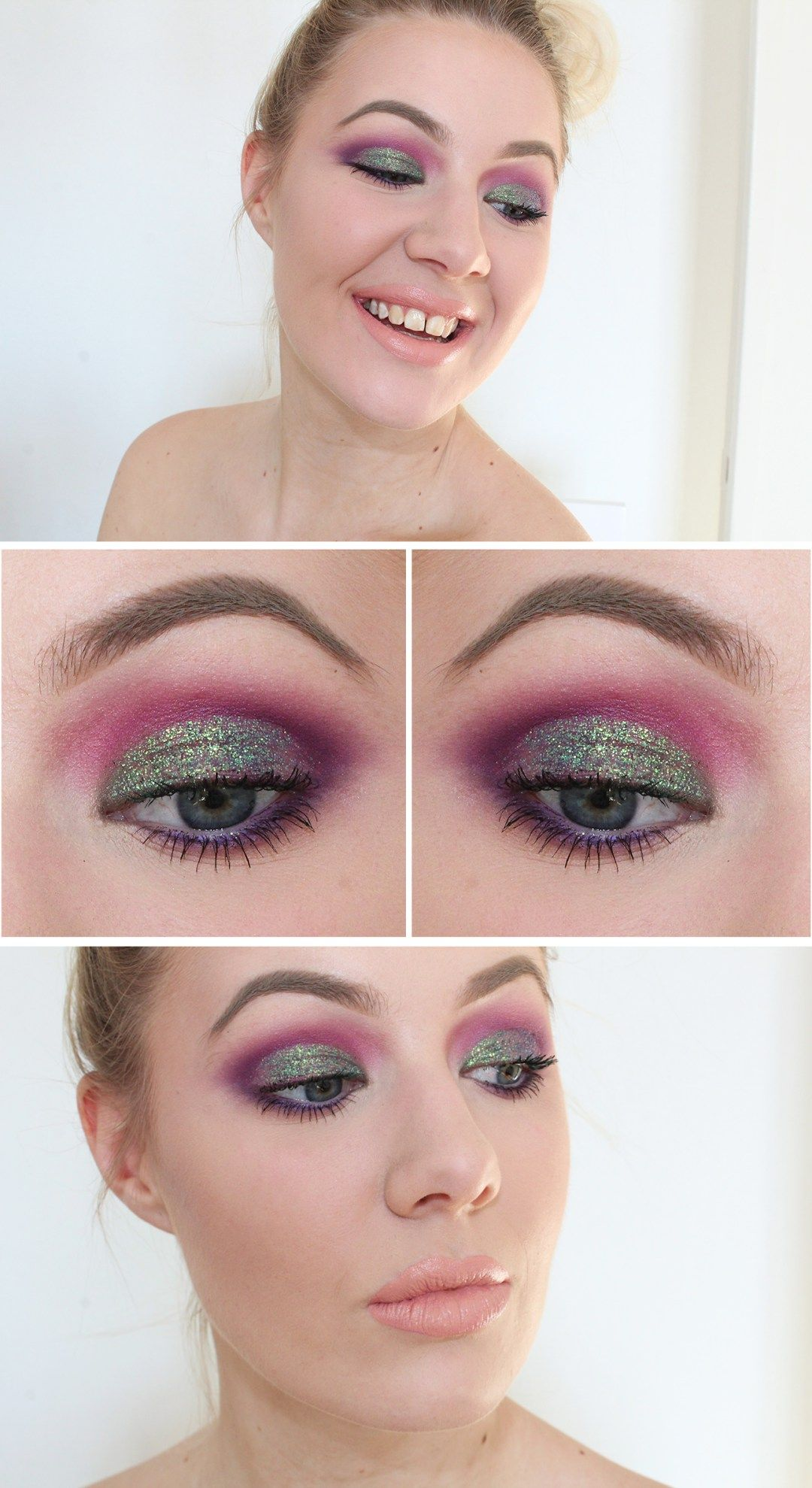 Amanda Svensson ♥ Glitter Cut Crease