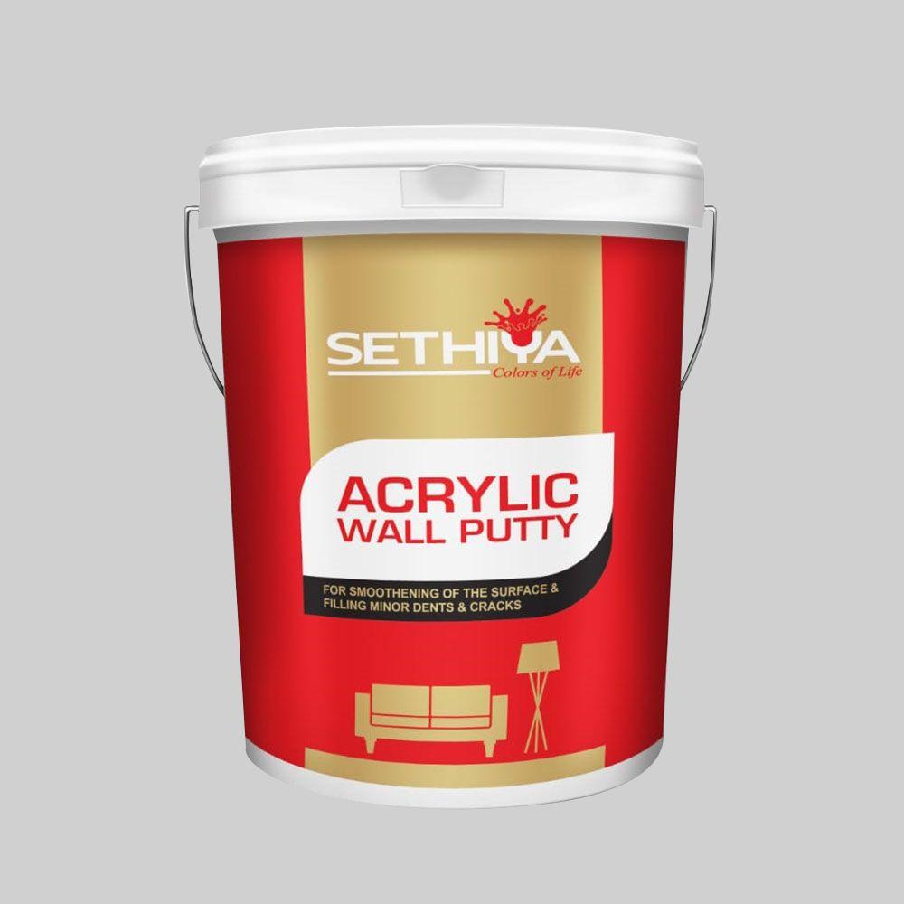 Sethiya Acrylic Wall Putty Asbestos Sheet Wall Acrylic