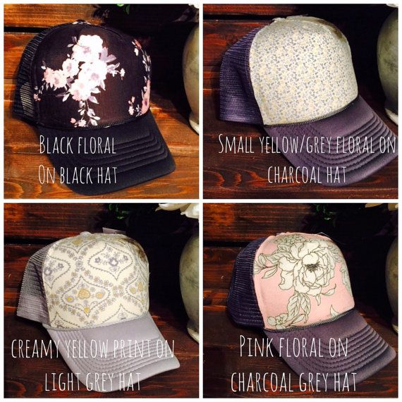 New designs! Available as seen or choose a different hat color!