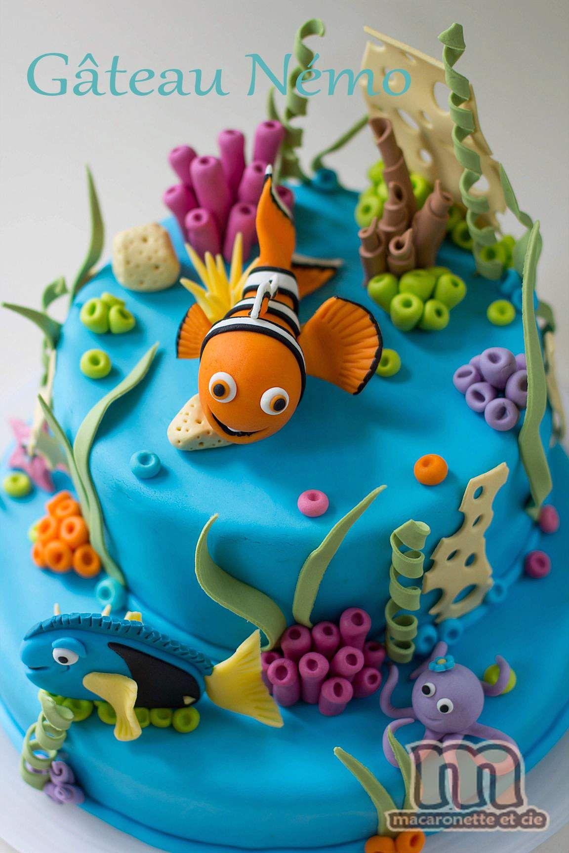 Sweet Table Nemo Le Gateau Nemo Et Quelques Pas A Pas En Pate A