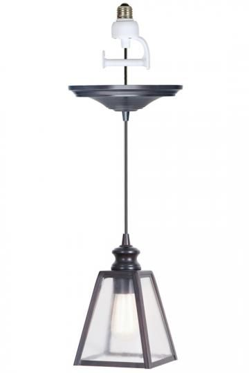 Home Decorators Collection Harper 1 Light Antique Bronze Pendant