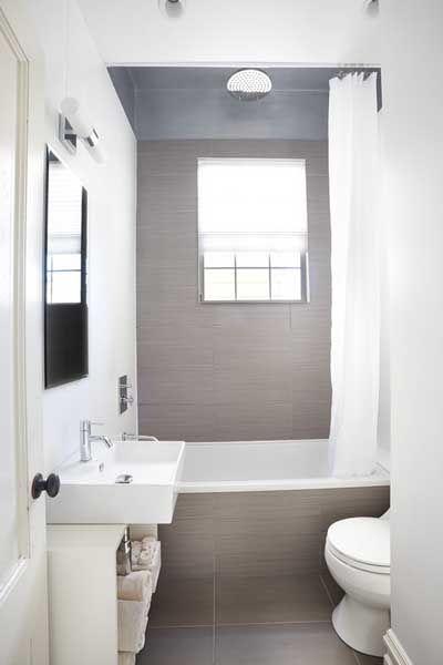 35 fotos e ideas para decorar un cuarto de baño pequeño y moderno ...